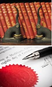 books-pen-seal